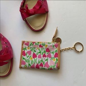 Lily Pulitzer Wallet Keychain